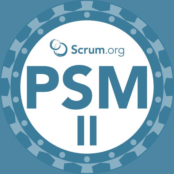 PSM II badge